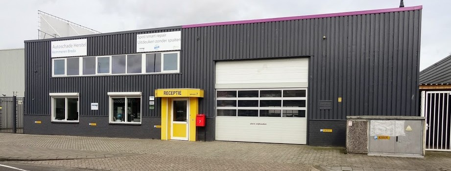 Autoschade Herstel Kemmeren Breda Gevel Header