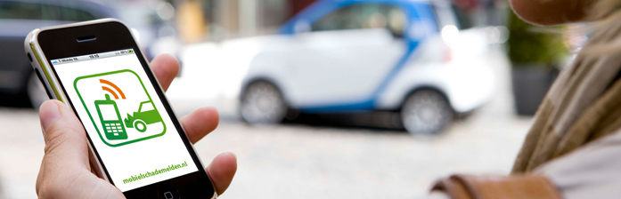 Europees Schade Formulier of Mobiel Schade Melden- Autoschade kemmeren